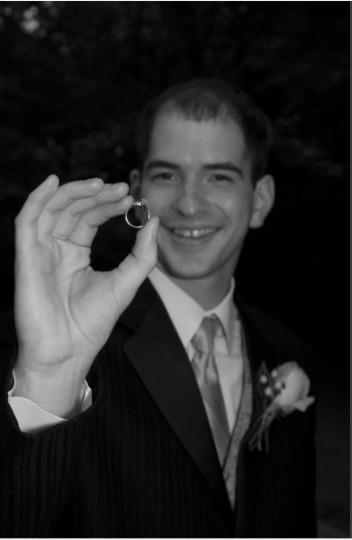 Husband Holding Ring